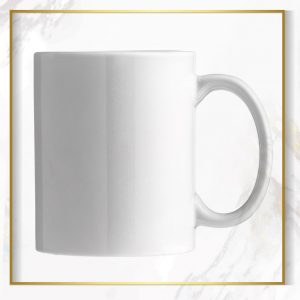 لیوان سفید سرامیکی