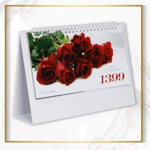 تقویم رو میزی گل رز