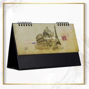 تقویم رومیزی طرح نقاشی جهانگردی