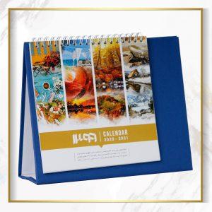 تقویم رومیزی چکاوک