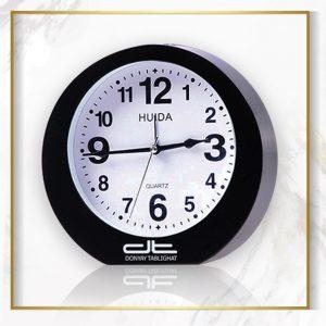 ساعت رومیزی مشکی HUIDA