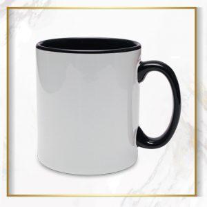 لیوان دسته داخل مشکی