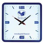 ساعت دیواری کیمیا سرمه ای