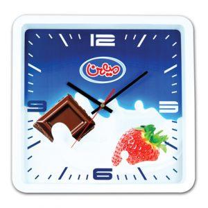 ساعت دیواری کیمیا سفید