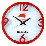 ساعت دیواری تیدا قرمز